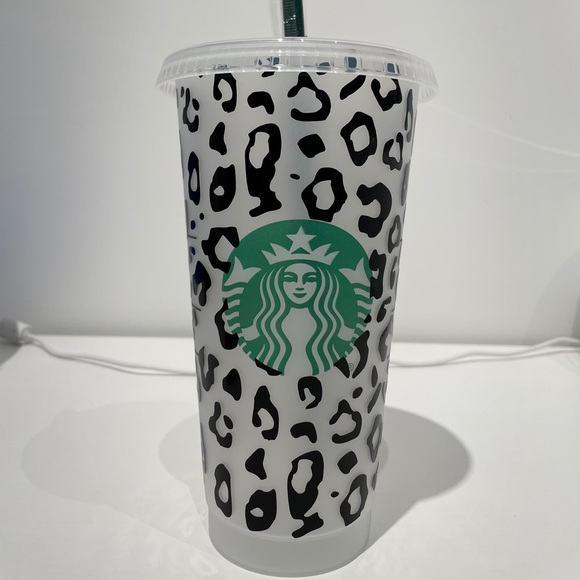 Starbucks Cheetah print cup